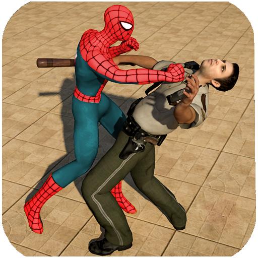 Spider Hero Jail Survival: Stealth Mission