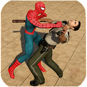 Spider Hero Jail Survival: Stealth Mission