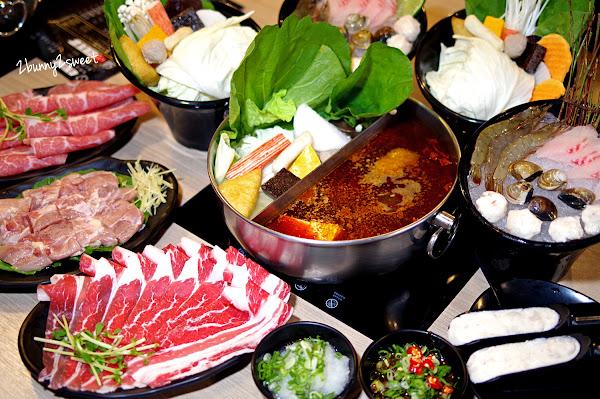 大初 SHABU SHABU~270 元商業午餐有菜、有肉、有海鮮,還有冰淇淋、飲料無限吃!! 肉肉愛好者還有 50 oz 雙人大肉盤套餐|大安區美食|國父紀念館美食|捷運板南線