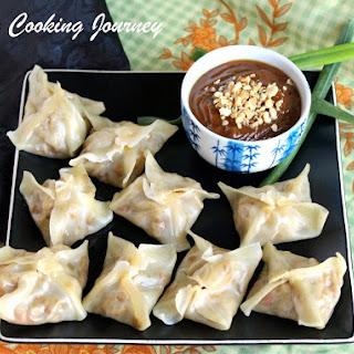 Vegetable Dumplings – Chinese New Year Dumplings – Steamed Vegetable and Tofu Dumplings.