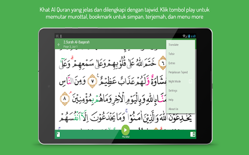 Quran Tajwid Indonesia for PC