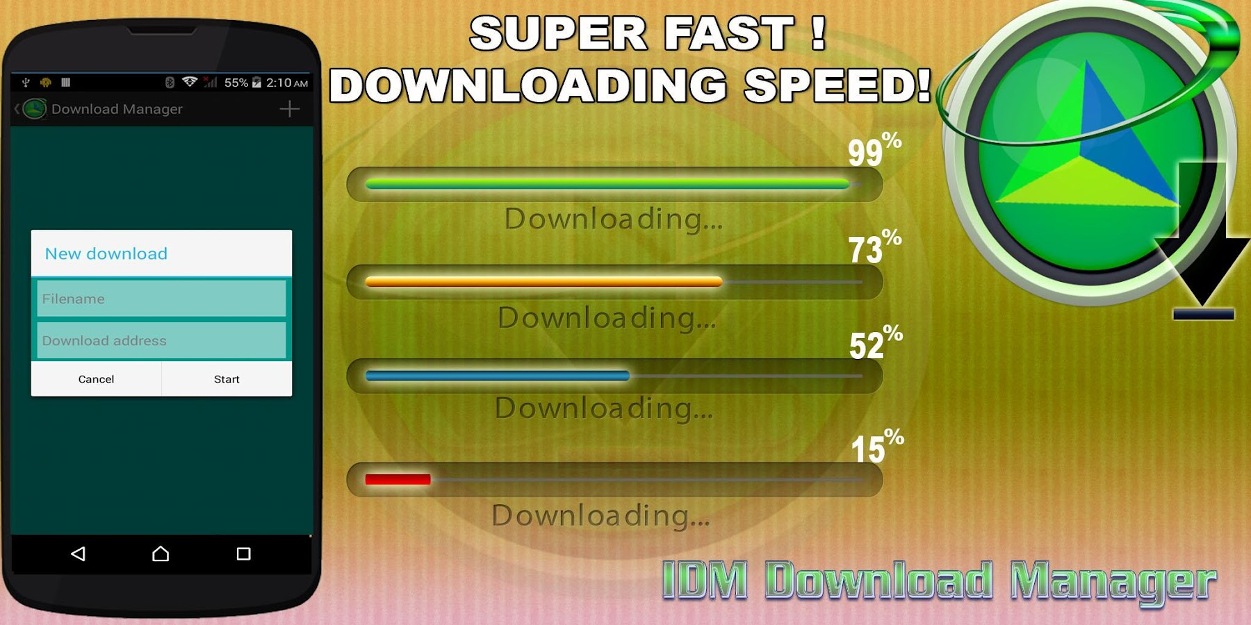 Phone Best Download Manager For Android Phone idm video download manager android apps on google play screenshot