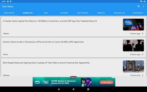 Tech News 1.9.1 Screenshots 12