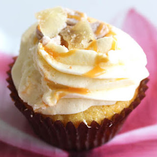 Easy Ginger Cupcake Recipe with Caramel
