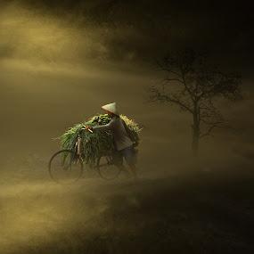 Menembus Kabut by Eli Supriyatno - Digital Art People