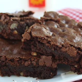 Homemade Chocolate Brownies.