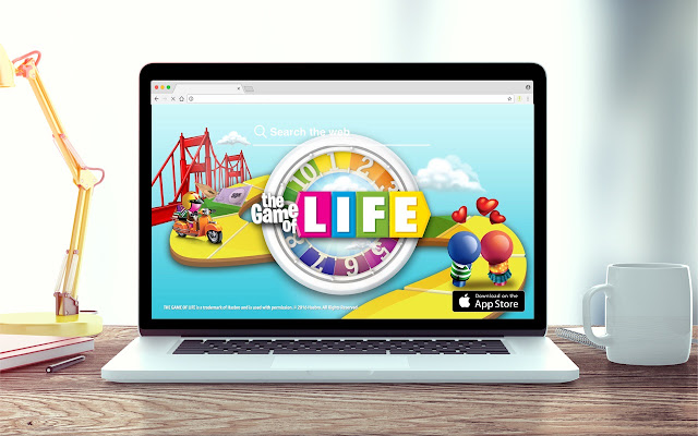 Game Of Life New Tab Game Theme