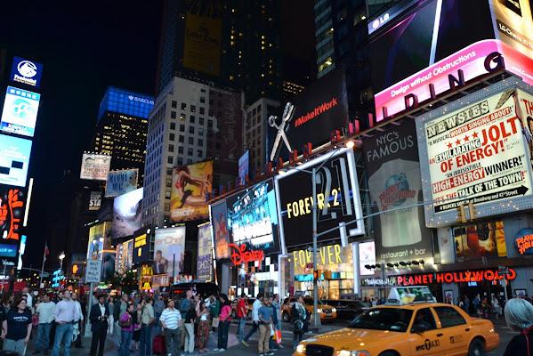 Luci notturne a New York di Ariuc91