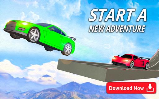 Mega Stunt Car Race Game - Free Games 2020 3.4 screenshots 5