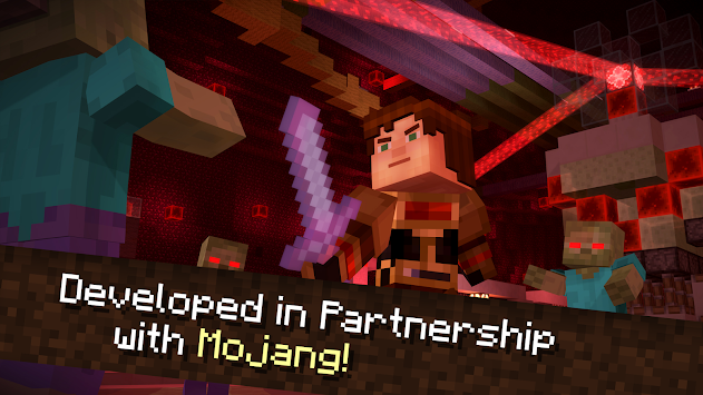 Minecraft: Story Mode APK screenshot thumbnail 7