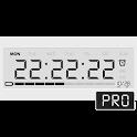 Battery Saving Digital Clocks Live Wallpaper Pro icon