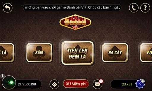 Tien len game bai danh bai