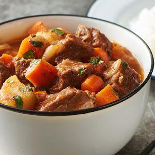 Puerto Rican Beef Stew.