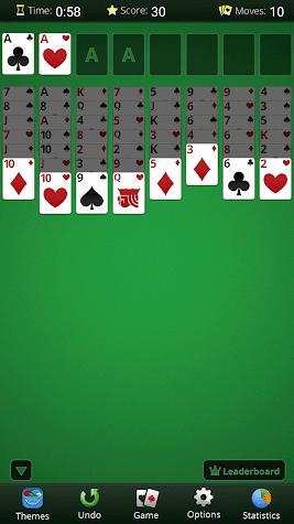 FreeCell Solitaire Screenshot