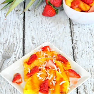Grilled Pineapple Fruit Salad.