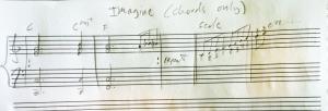 teach pop music on the spot notation