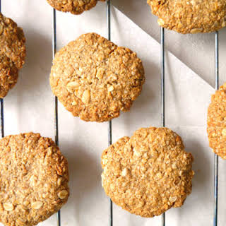Buckwheat ANZAC Cookies.