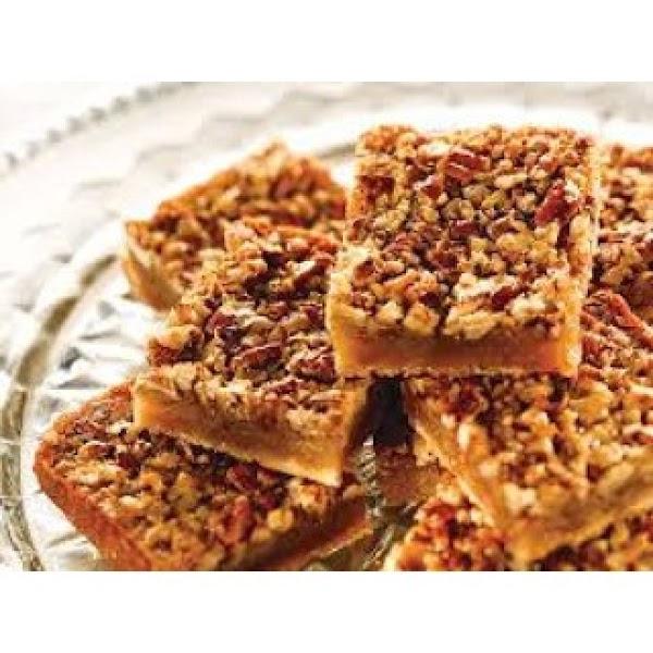 Best Ever Pecan Pie Bars Recipe