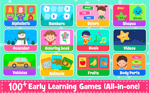 Kids Preschool Learning Games – 120 Toddler games 9
