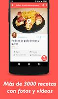 Screenshot of Que cocino hoy? Recetas cocina