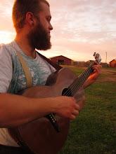 Photo: Joel serenades the land