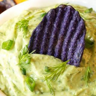Creamy Avocado Ranch Dip Recipe