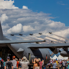 Flyby by Anthony Martinez - Transportation Airplanes ( duluth air show, air plain )