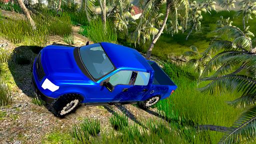 Télécharger 4x4 Off-Road Truck Simulator: Tropical Cargo APK MOD (Astuce) screenshots 3