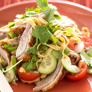 Barbecued Duck and Noodle Salad.