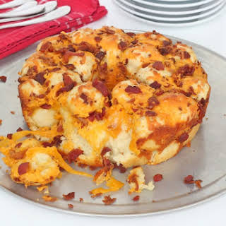 Bacon Cheddar Monkey Bread.
