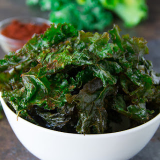 Spicy Kale Chips.