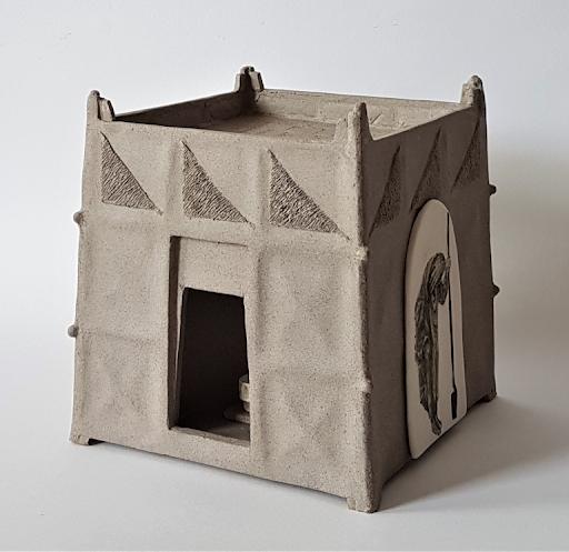Claudia Thunnissen - keramiek - Vluchtelingenschrijn