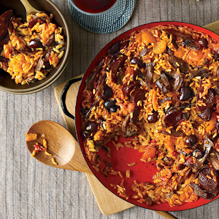 Rice with Duck and Apricots Recipe