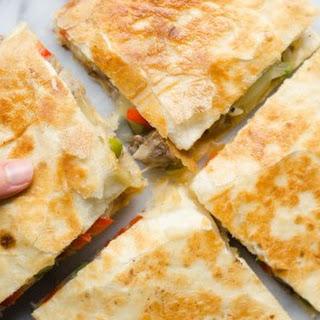 Cheesesteak Quesadillas Recipe