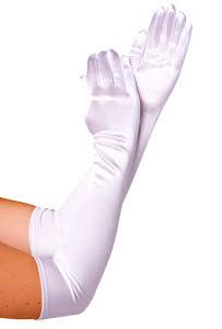 Handskar, vita