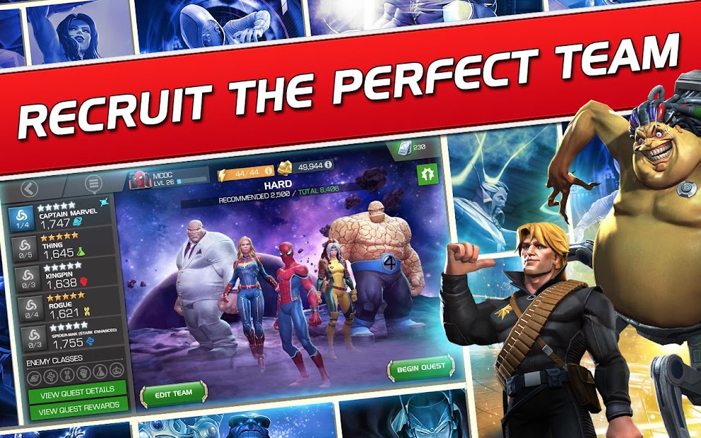 Marvel Contest of Champions Android App Screenshot