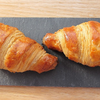Croissants (majorly adapted from Julia Child)