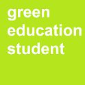 Green Education Student icon