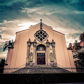 Sunday Mass by Francis Hesse - Buildings & Architecture Places of Worship ( church, hdr, california, st timothy's catholic church, d7000, los angeles )