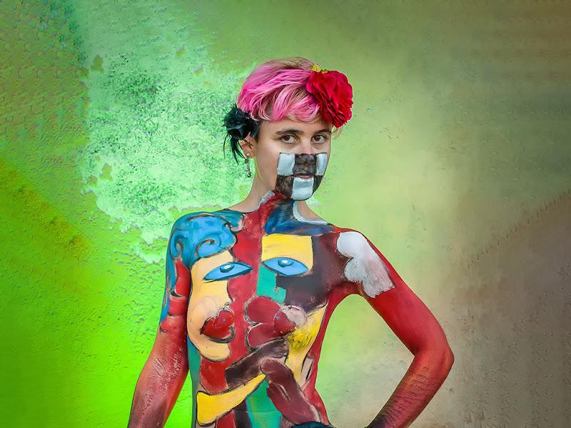 Un brillante Body Paint  di renatoxxx