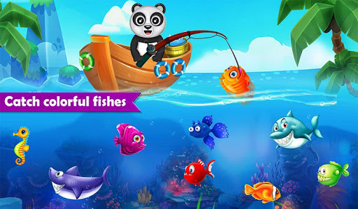 Happy Fisher Panda: Ultimate Fishing Mania Games  screenshots 3