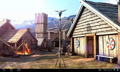 Vikings 3D LWP APK screenshot thumbnail 2