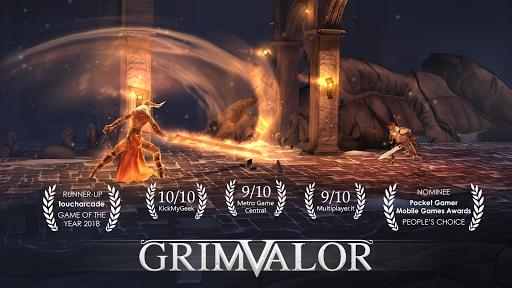 Grimvalor astuce APK MOD capture d'écran 1