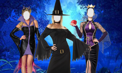 Villain Witch Photo Montage
