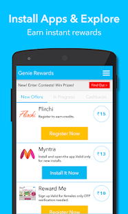 Genie Rewards, Free Recharge- screenshot thumbnail