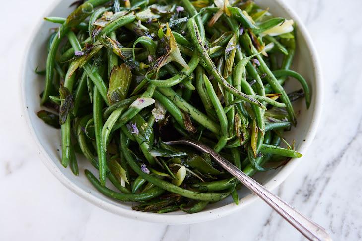 Vibrant Tasty Green Beans