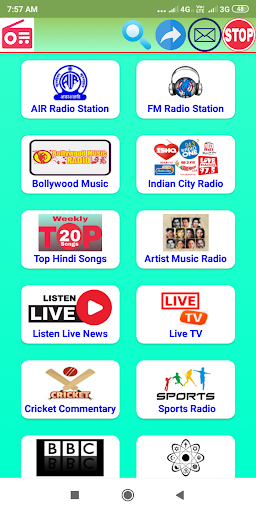 All Indian Radio - Music,Cricket Score & News 10.2.1 screenshots 1