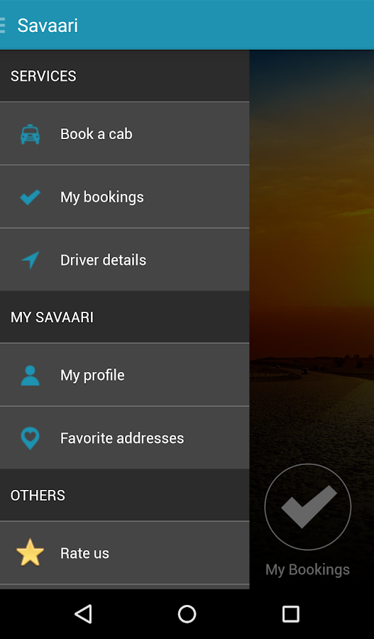 Savaari- screenshot