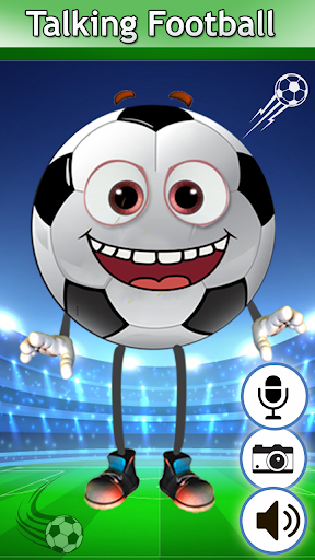 My Talking Football – Talking and Dancing Football 1.1 screenshots 1