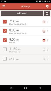 Alarmy(Sleep If U Can)- المنبه- صورة مصغَّرة للقطة شاشة